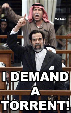SaddamDemandTorrent
