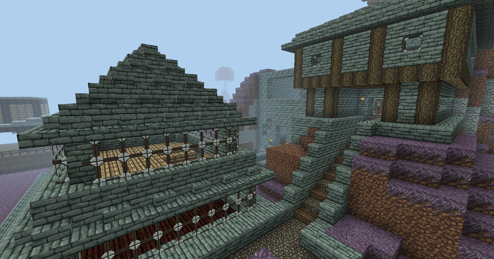 Part Of My Old Clan Village :(