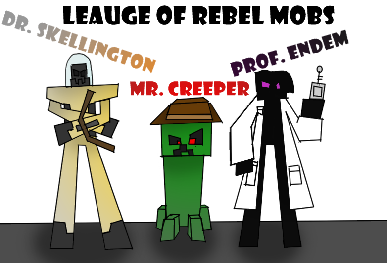 Leauge Of Rebel Mobs Photoshopped Png