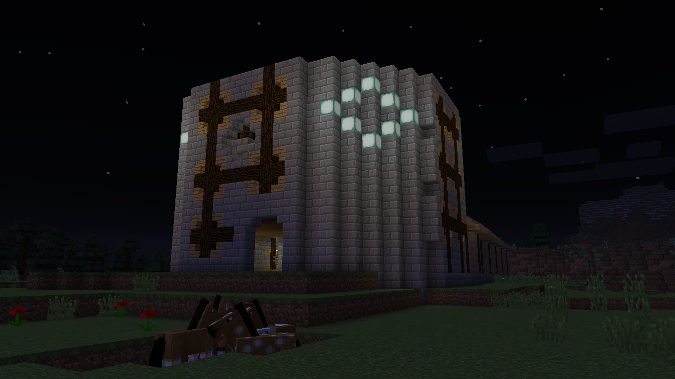 Mission Survive spawn: Outside view