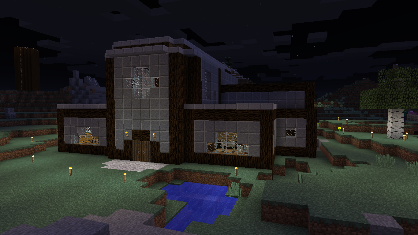 The Franch-House in progress!